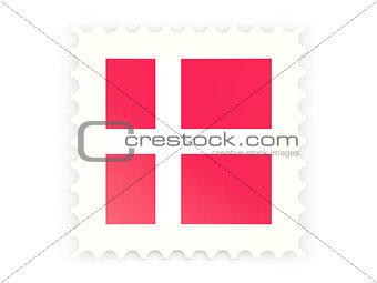Postage stamp icon of denmark