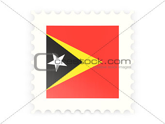 Postage stamp icon of east timor