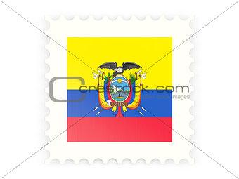 Postage stamp icon of ecuador