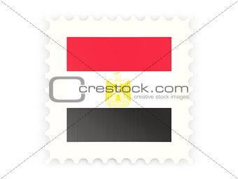 Postage stamp icon of egypt