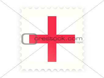 Postage stamp icon of england