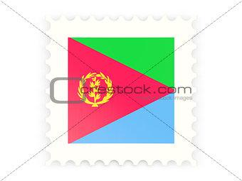 Postage stamp icon of eritrea