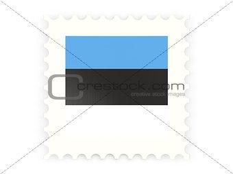Postage stamp icon of estonia