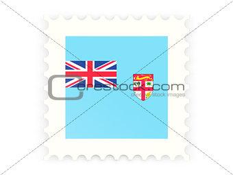 Postage stamp icon of fiji