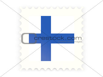 Postage stamp icon of finland