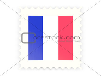 Postage stamp icon of france