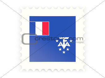 Postage stamp icon of french southern territories