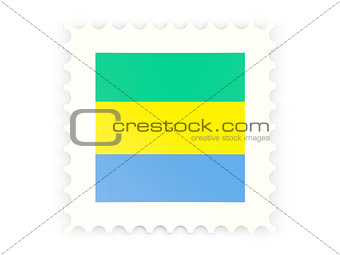 Postage stamp icon of gabon