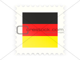 Postage stamp icon of germany