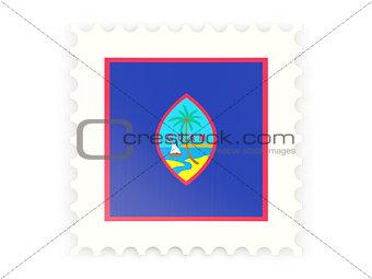 Postage stamp icon of guam