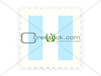 Postage stamp icon of guatemala