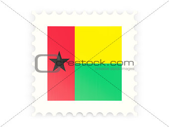 Postage stamp icon of guinea bissau