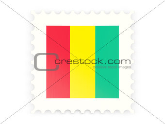Postage stamp icon of guinea