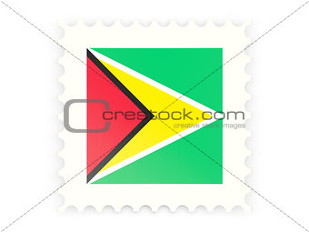 Postage stamp icon of guyana