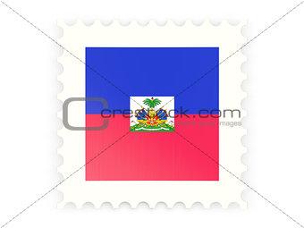 Postage stamp icon of haiti