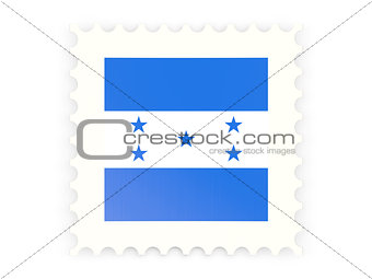 Postage stamp icon of honduras
