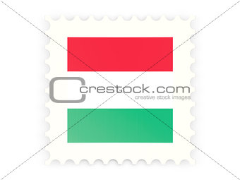 Postage stamp icon of hungary