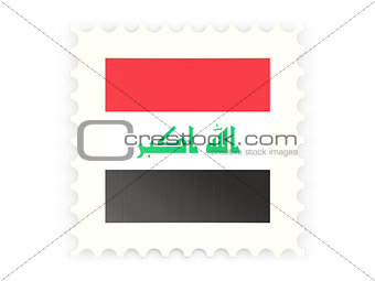 Postage stamp icon of iraq