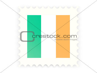 Postage stamp icon of ireland