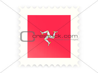 Postage stamp icon of isle of man