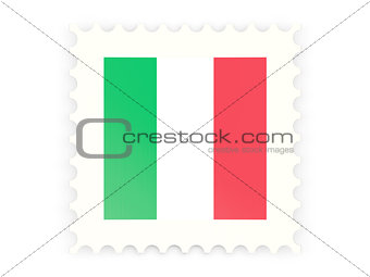 Postage stamp icon of italy