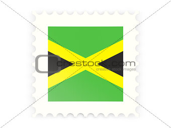 Postage stamp icon of jamaica