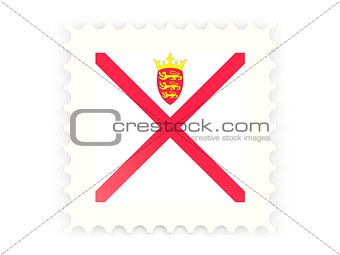Postage stamp icon of jersey