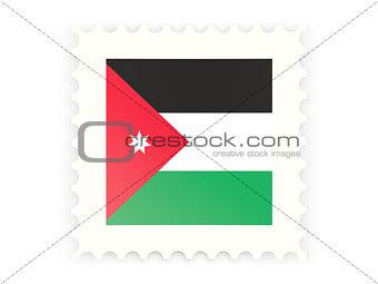Postage stamp icon of jordan