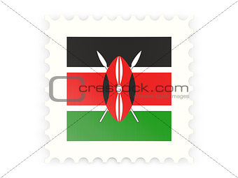 Postage stamp icon of kenya