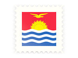Postage stamp icon of kiribati