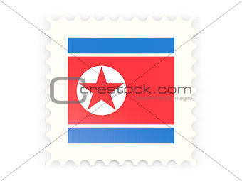 Postage stamp icon of north korea
