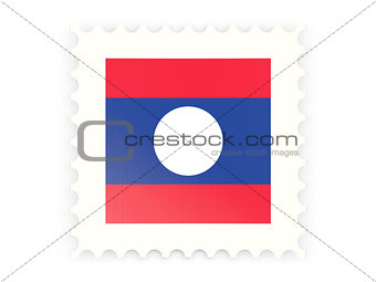 Postage stamp icon of laos