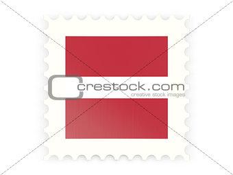 Postage stamp icon of latvia