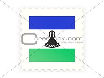 Postage stamp icon of lesotho