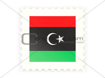 Postage stamp icon of libya