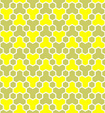 Honeycomb pattern. Seamless geometric hexagons pattern.