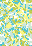 Seamless Geometric Pattern With Polygon Shapes