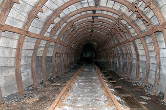 Old mine tunnel