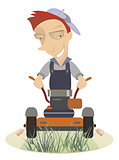 Lawnmower illustration