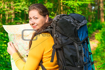 traveler checks with the road map