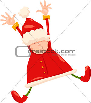 boy santa claus christmas cartoon