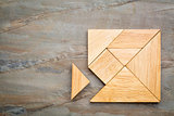 missing piece in tangram puzzle