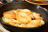 Home fried potatoes