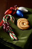 Candy canes and Christmas Cookies