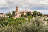 Tuscan Village with Bell Tower