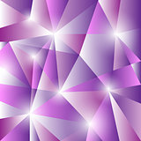 Geometric pattern with triangles background