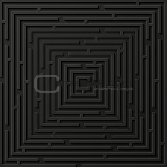 Abstract background with labyrinth