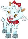 Little goat. Symbol 2015 year