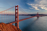 Golden Gate Bridge in San Fracisco City