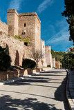 Gibralfaro castle (Alcazaba de Malaga), Spain